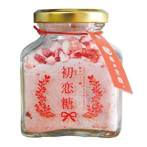 栃木県 初恋糖 1瓶 80g フリーズドライ とちおとめ グラニュー糖 いちご