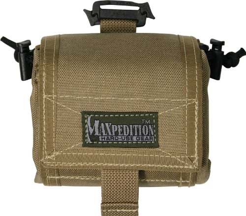 Maxpedition Mega Rollypoly Folding Dump Pouch (Khaki)