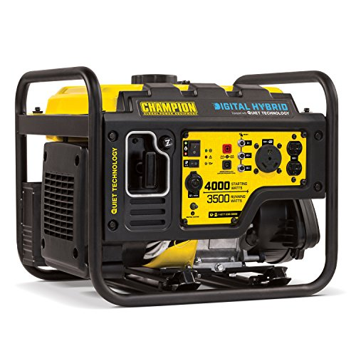 Champion 4000-Watt Open Frame RV Inverter Generator