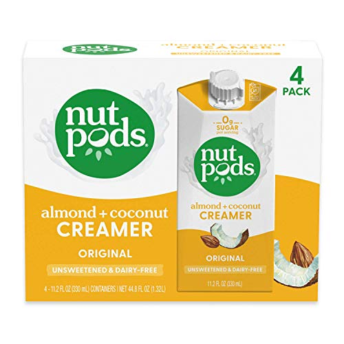 nutpods Original, Unsweetened Dairy-Free...