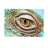 Fenteer 水族館の背景アイスタイル片面ステッカー水族館の背景ポスター爬虫類水槽壁紙装飾 - L