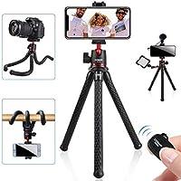 Coman Flexible Camera Tripod with Bluetooth
