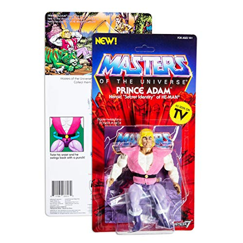Masters of The Universe Vintage Collection Action Figure Prince Adam 14 cm