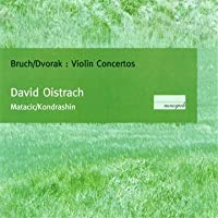 Oistrach Plays Bruch, Dvorak Violin Concertos (CD-R)