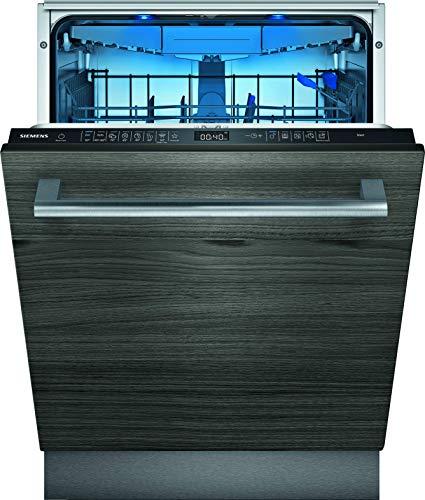 Siemens SX65EX57CE iQ500 Vollintegrierter Geschirrspüler/A++ / 266 kWh/Jahr / 2660 L/Jahr/WLAN-Fähig über Home Connect/varioSpeed Plus/Glas 40° Programm, Schwarz