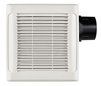 Broan-Nutone AN110 InVent Series Single-Speed Fan Ceiling Room-Side Installation Bathroom Exhaust Fan ENERGY STAR Certified 3.0 Sones 110 CFM
