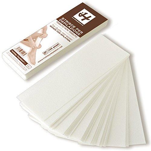 Vliesstreifen Weiß Prof 19,5 cm x 7 cm 100 Stück