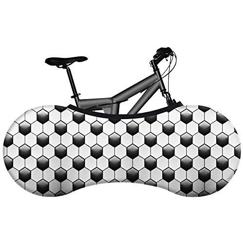 Cubierta De Rueda De Bicicleta, Antipolvo Bolsa De Almacenamiento Interior Para Bicicleta A Prueba De Rayones, Lavable Paquete De Llantas De Alta Elasticidad Protección De La Carretera One size 5