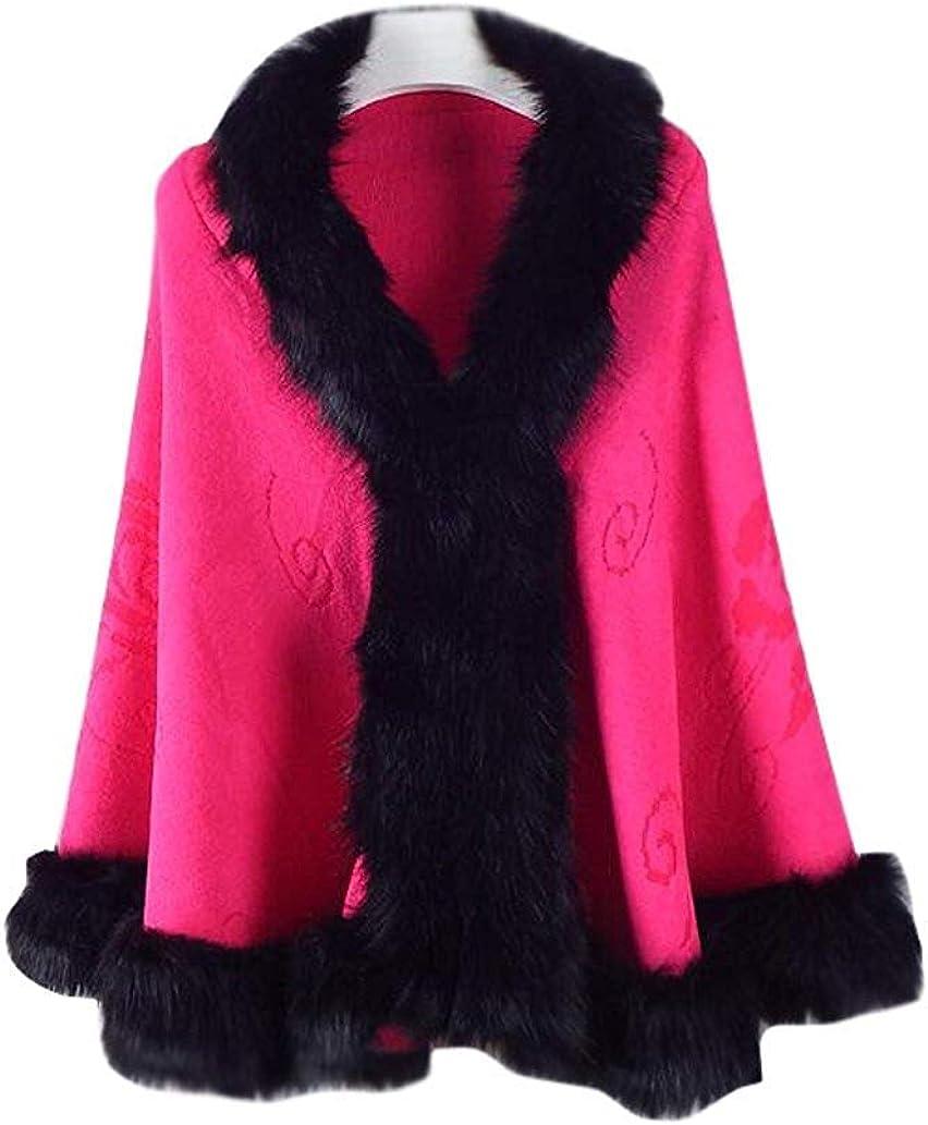 Homebed Faux Fur Shawl Wrap Stole Shrug Winter Bridal Wedding Cover Up