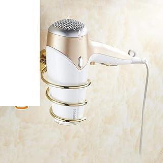 CHUTD Support de sèche-Cheveux, étagère pour sèche-Cheveux, Support de sèche-Cheveux, séchoir à Cheveux Cartouche de Range...