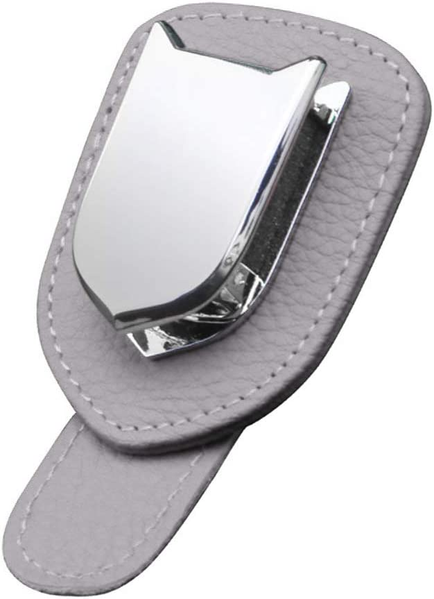 35% OFF ihreesy Car Sunglasses Max 72% OFF Holder Clip Su PU Multifunctional Leather