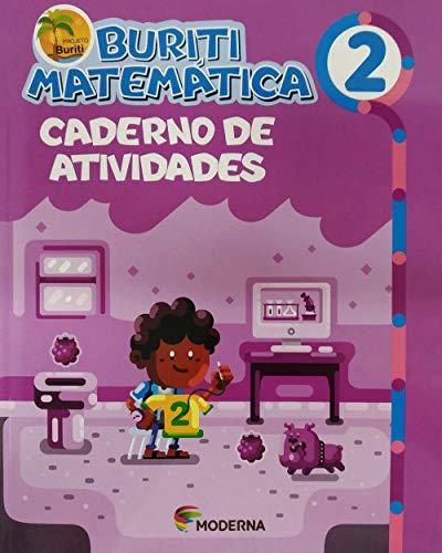 Buriti. Matemática. 2º ano - Caderno de Atividades