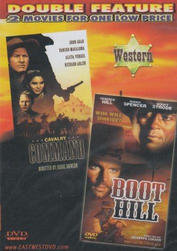 Boot Hill / Cavalry Command [Slim Case]