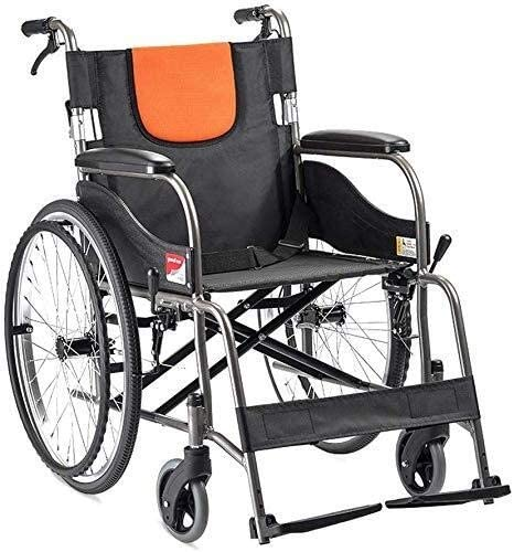 JKCKHA Portable Self 25% OFF Wheelchair,Lightweight Propelled Alumi Selling rankings