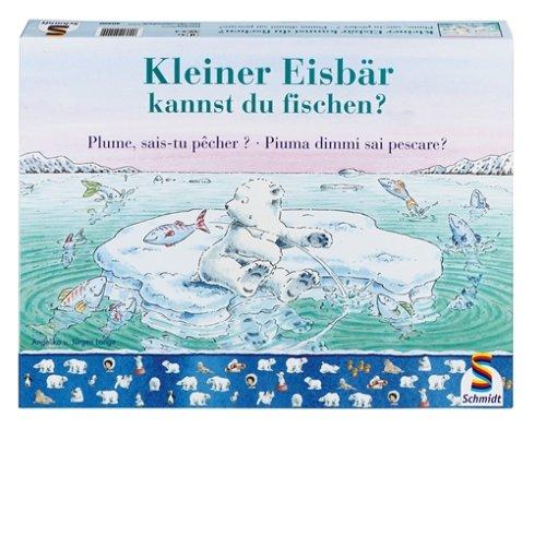 Schmidt Spiele - Der kleine Eisbär, Kannst du fischen?