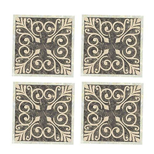 Tubayia 40 adhesivos para azulejos de pared, 8 x 8 cm, resistentes al agua, para cocina o baño