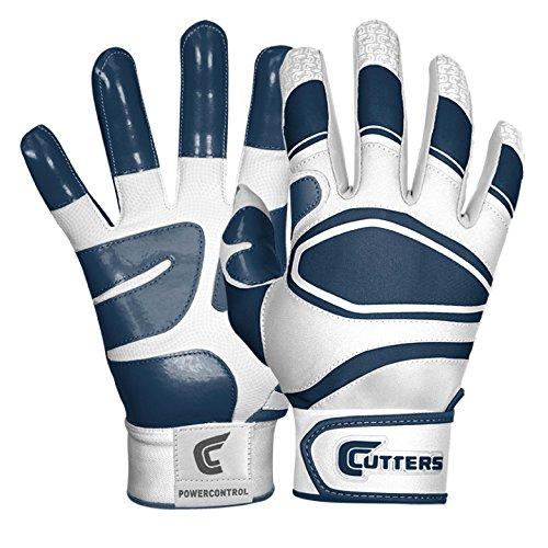 Cutters(カッターズ) 野球 手袋 バッティング グローブ パワーコントロール B440 L ネイビー