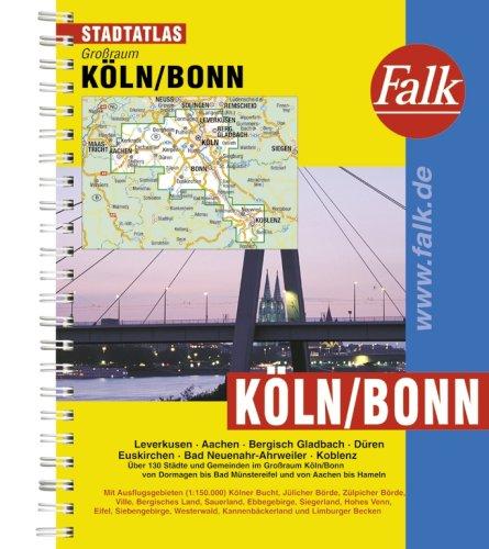 Falk Stadtatlas Großraum Köln / Bonn
