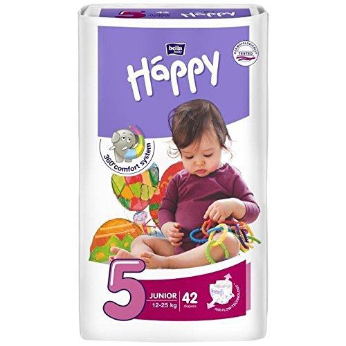 Bella Baby Happy taglia 5 junior (12 - 25 kg) 42 Pannolini