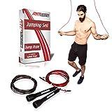 ActiveVikings Springseil Ideal für Fitness, Ausdauer & Abnehmen | Boxen, MMA, Fitnesskurse, Crossfit, Intervalltraining