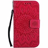 Galaxy S3 Case, Dfly Premium Soft PU Leather Embossed