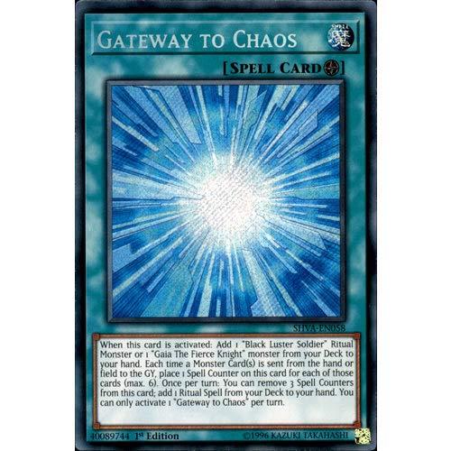 SHVA-EN058 1st Ed Gateway to Chaos Secret Rare Card Shadows in Valhalla...