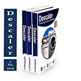 genrice Descale powder for all washing machines (Samsung, whirlpool, Lg, IFB, Bosch, Haier, Godrej) Pack of 3 x 100gms