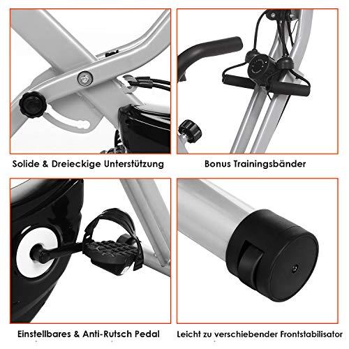 Fitness Trainingsrad ANCHEER 2 in 1 Heimtrainer Bild 5*