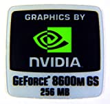 VATH Sticker Compatible with NVIDIA GeForce 8600m GS 256mb 18 x 18mm [294]