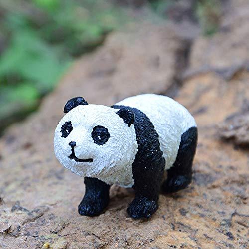 Redcolourful Mini-versiering voor bloempot, panda, van kunsthars
