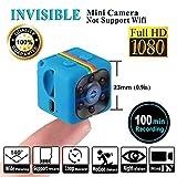 SQ11 Mini cámara 1080P , Mini Cam , Portable HD Nanny Web Cam ( visión nocturna, FOV140,...