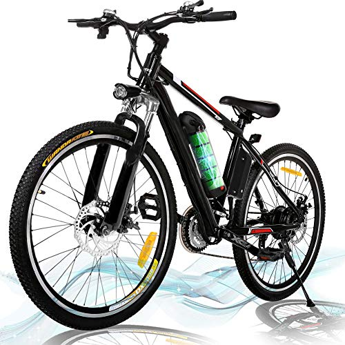 Kemanner 26 inch Electric Mountain Bike 21 Speed 36V 8A...