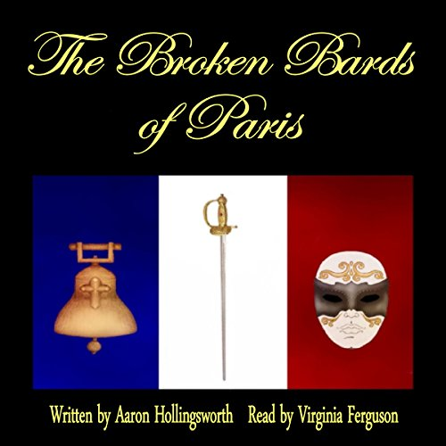 The Broken Bards of Paris audiobook cover art