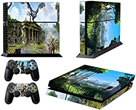EBTY-Dreams Inc. - Sony Playstation 4 Original (PS4 Original) - Horizon Zero Dawn Video Game Aloy Vinyl Skin Sticker Decal...