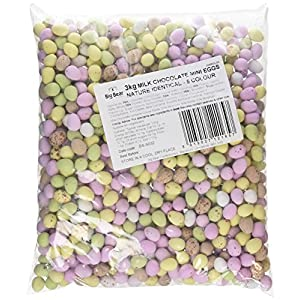 glisten milk chocolate mini eggs 3 kg Glisten Milk Chocolate Mini Eggs 3 Kg 51EKeDyinpL
