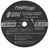 Rotozip DD-PM5 2-1/2' Direct Drive Cut-Off Wheel 5 Count