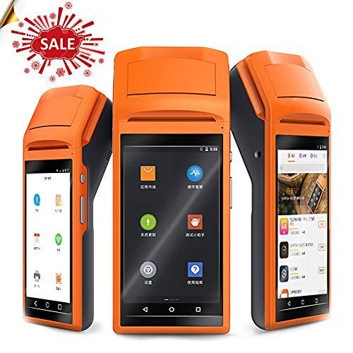 [mise à jour] Android 6.0POS terminal 3G, Sm-v1s écran tactile 14cm Handheld 3G Andoid Mini POS machine thermique avec WiFi Bluetooth Mini imprimante de point de vente