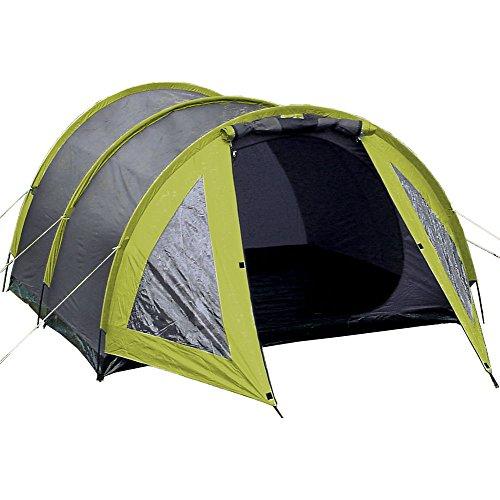 Explorer Mallorca 3-persoons tent, tunneltent met luifel, 200/295x210x120 cm, 2000 mm waterkolom, outdoor, wandelen, camping