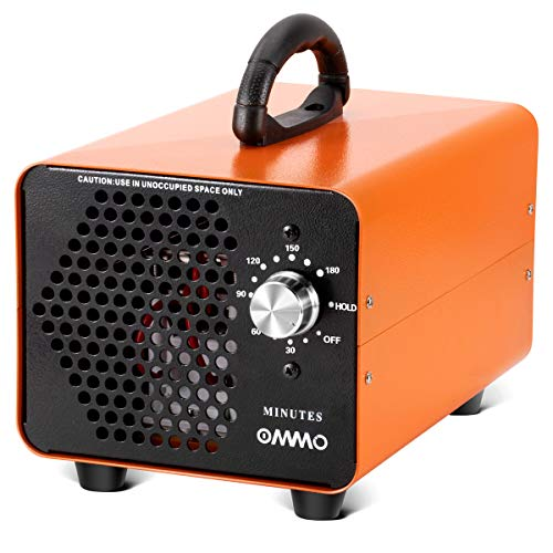 OMMO Ozone Generator 10000mg/h, Commercial Ozone Generator Air Purifier, Deodorizer Ozone Machine for Rooms, Smoke, Cars, and Pets