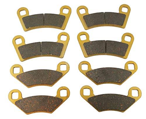 Polaris RZR 800 Ceramic Brake Pad Set 2008, 2009, 2010, 2011, 2012, 2013, 2014