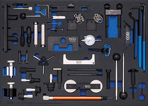 BGS 4136 | Insert de servante d'atelier 3/3: Coffret de calage | pour Ford, VAG, Mazda, Volvo