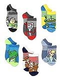 Disney Toy Story 4 Toddler Boy's Girl's 6 pack Sock Set (Shoe: 10-4 (Sock: 6-8), White/Multi)