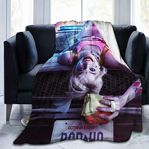 51EKhXULmUL Harley Quinn Blankets
