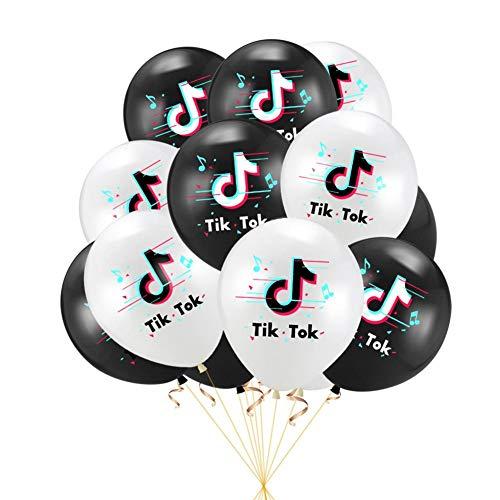 decaden Geburtstag Luftballons Set Thema Party Dekorationen Luftballons sicher langlebig für Geburtstag, Hochzeiten, Party Dekorationen Geburtstagsfeier Lieferungen
