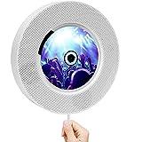 Tragbarer wandmontierbarer Bluetooth-CD-DVD-Player, kompakter Home-DVD-Player für TV-Player Eingebauter HiFi-Lautsprecher, Unterstützung für FM-Radio USB HDMI 1080P HD-Fernbedienung