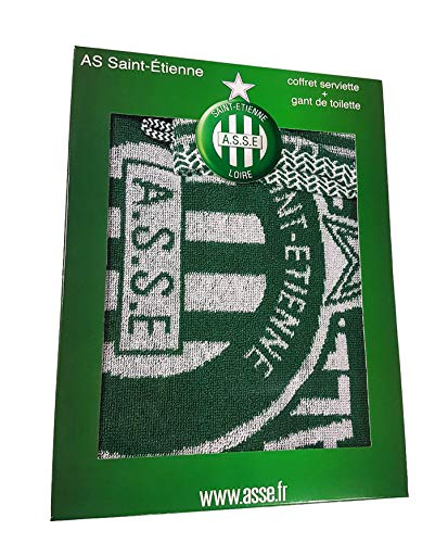 Saint Etienne Bath Towel Gift Box 50 x 90 cm + ASSE Washcloth - AS Official Collection