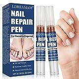 Tratamiento de Uñas,Pluma de Reparación de Uñas,Reparar Las Uñas,Lima de Uñas,Retirar Dedos Infectados Amarillos, Cuidado de Uñas Seguro y Natural