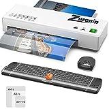 Plastificadora,Plastificadora A4 A5 A6 4 en 1 Laminador Caliente y Frío con Sistema...