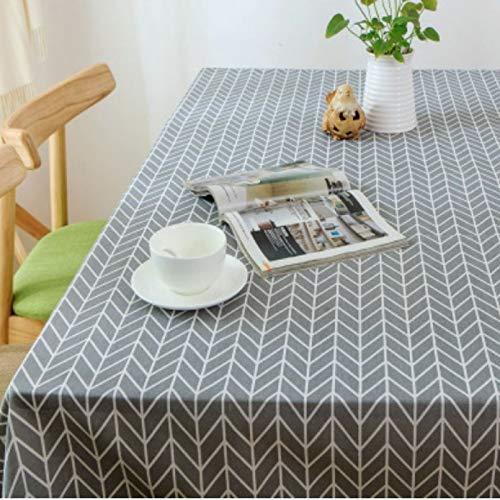PhantasyIsland.com Mantel rectangular rectangular de tela de poliéster, 60 x 60 cm