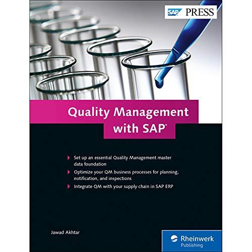 Quality Management with SAP ERP (SAP PRESS: englisch)